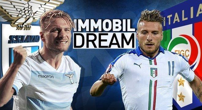 Immobile, na Lazio e na seleção, o artilheiro da temporada na Bota