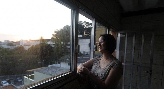Liliane da Silva alugou imóvel em São Caetano por causa da qualidade de vida