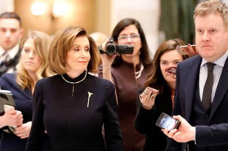 A democrata Pelosi é presidente da Câmara dos EUA