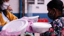 Ação entrega 100 mil marmitas e cestas básicas em Heliópolis (SP)