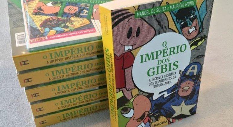 Império dos Gibis mostra a história de publicação de quadrinhos da Editora Abril