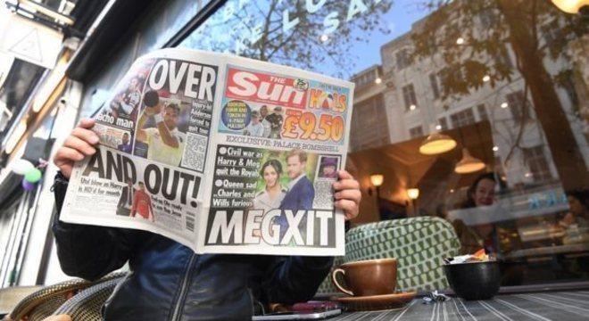 Imprensa e redes sociais criaram o termo 'Megxit' para descrever a nova relação dos duques de Sussex com o restante da família real britânica
