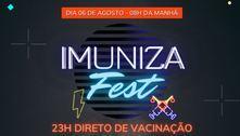 Prefeitura de Jandira (SP) vai fazer 23 horas de vacinação contra covid