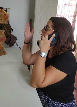 Caroline dos Santos desabafa: ligações de cobrança o dia todo