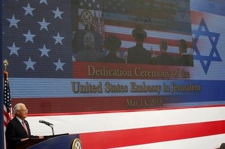 EUA inauguraram embaixada em Jerusalém