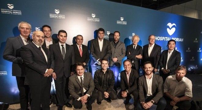 Luiz Cláudio Costa,  Guilherme Munhoz, Geraldo Alckmin e outras presenças ilustres