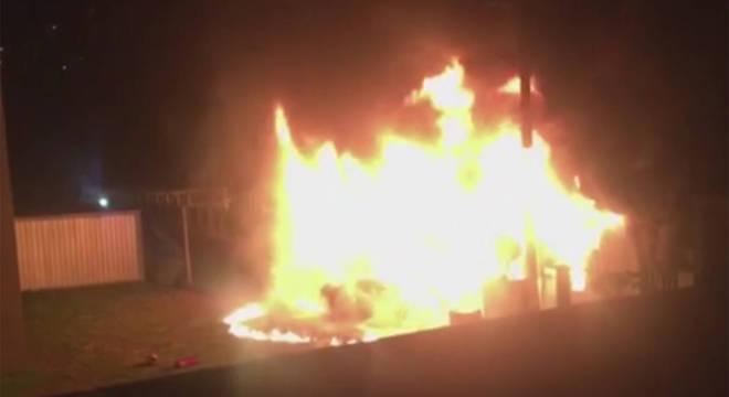 O incêndio no CT que o CEO tentou exaltar na coletiva