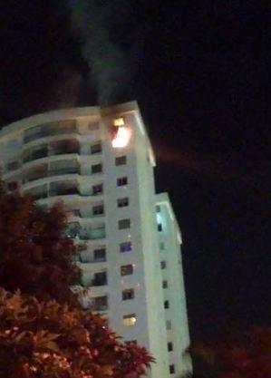 Idoso morre em incêndio no bairro de Pinheiros (SP)