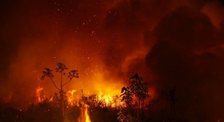 Chuvas estão mais fracas justamente na região Centro-sul do Brasil, onde fica o Pantanal