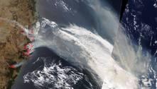 Fumaça dos incêndios da Austrália chega à Argentina