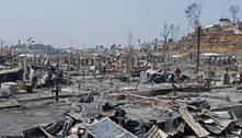 Incêndio em campo de refugiados em Bangladesh deixa 15 mortos