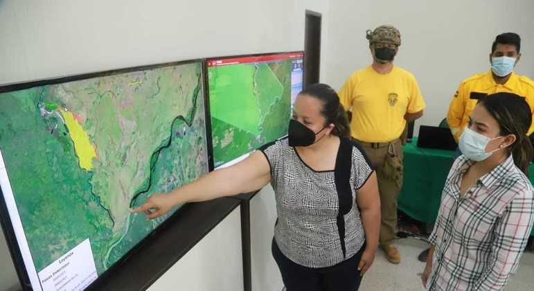 Incêndio atingiu 1.200 hectares  da reserva de Otuquis, na Bolívia