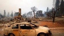 Incêndio florestal da Califórnia deixa cidade histórica em cinzas