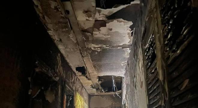 Incêndio casa de Paolla Oliveira