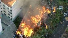 Incêndio atinge comunidade no Capão Redondo, na zona sul de SP