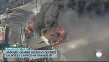 Incêndio em Barueri provoca suspensão de aulas em 9 escolas