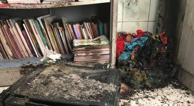 Escola Municipal de Ensino Fundamental Geralda Bonifácio Rodrigues foi atacada