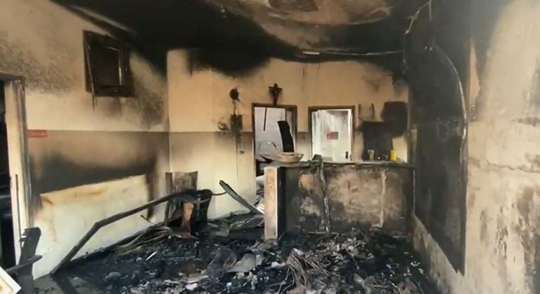 Ex-dono de escola é preso por atear fogo em estabelecimento particular de ensino em SP