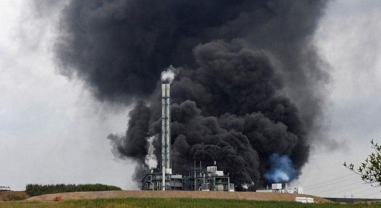 Explosão em estação de tratamento de resíduos em Leverkusen, no oeste da Alemanha