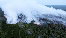 Finlândia sofre maior incêndio florestal em 50 anos