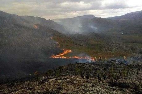 MG tem alta de 22% em incêndios florestais em setembro