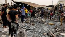 'Não pudemos fazer nada', diz testemunha de incêndio no Iraque