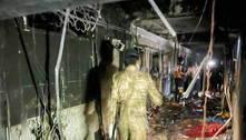 Número de mortos em incêndio em hospital no Iraque sobe para 130