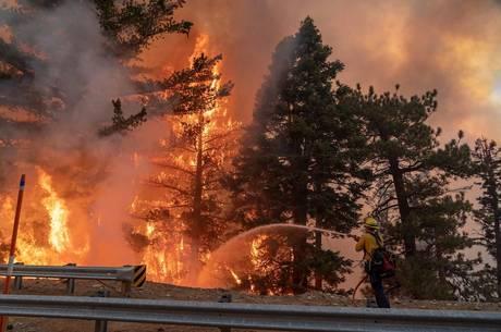 Incêndio é um dos maiores na história da cidade