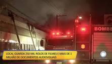 Incêndio na Cinemateca de São Paulo