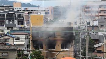__Incêndio no Japão deixa ao menos 33 mortos, dizem bombeiros__ (EFE/EPA/JIJI JAPAN/18.07.2019)