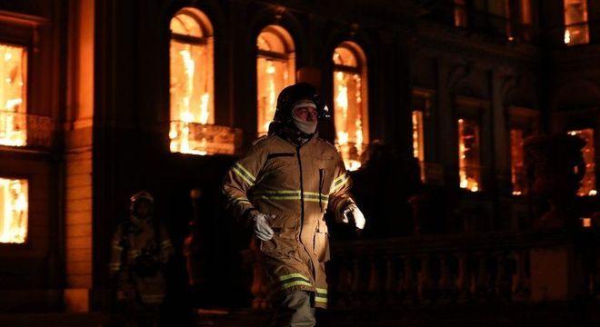 Museu Nacional, no Rio, pegou fogo no início de setembro