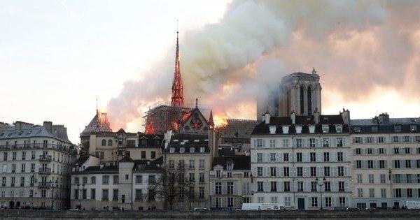 Plano de emergência salvou 90% dos tesouros de Notre-Dame