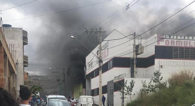 Fábrica de calçados pegou fogo no dia 16 de junho