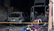 Incêndio destrói galpão de ONG em São Mateus, na zona leste de SP