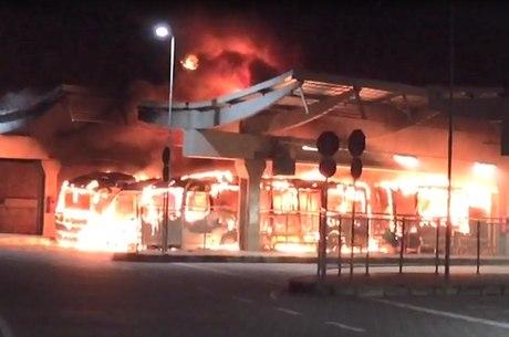 Incêndio aconteceu na estação do Move