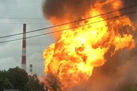 Incêndio foi controlado pela equipe de bombeiros