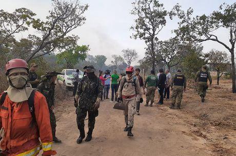 Governo diz que incêndio foi controlado