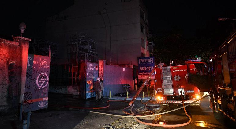 Incêndio atingiu subestação que atende Botafogo, Humaitá e Copacabana