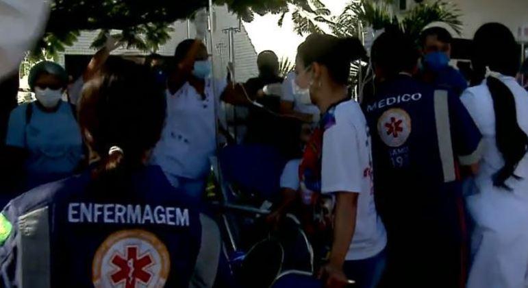 Quatro pacientes morrem após incêndio em UPA de Aracaju, no Sergipe