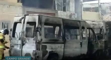 Corpo de bombeiros foi acionado no local