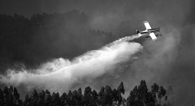 Portugal sofreu com incêndios em julho
