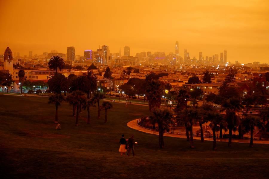 Céu da Califórnia fica encoberto por fumaça de incêndios florestais - Fotos  - R7 Internacional