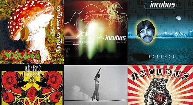 Incubus: um ranking do pior ao melhor disco