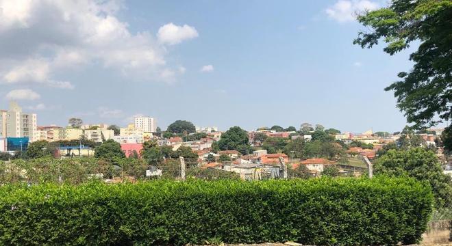 Vista da cidade de Indaiatuba, que também se desenvolveu em função das ferrovias