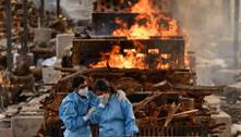 Índia passa de 400 mil mortes por covid-19
