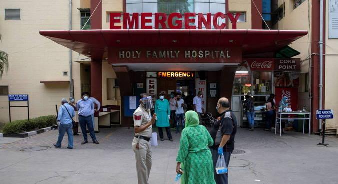 Índia passa por crise na saúde por aumento de casos