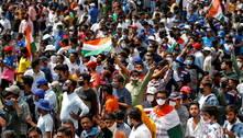 Países fecham fronteiras com a Índia por aumento da covid-19