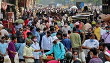 Índia bate recorde mundial de casos de covid pelo 2º dia seguido
