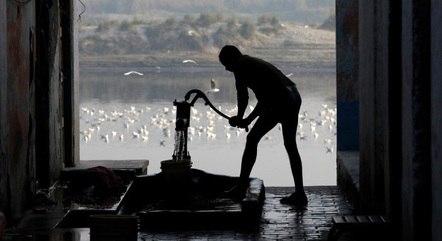 3,4% dos domicílios não estão ligados à rede de água