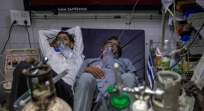 Índia supera 20 milhões de casos de covid